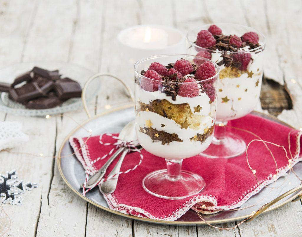 Trifle con pandoro, ricetta Latte Arborea