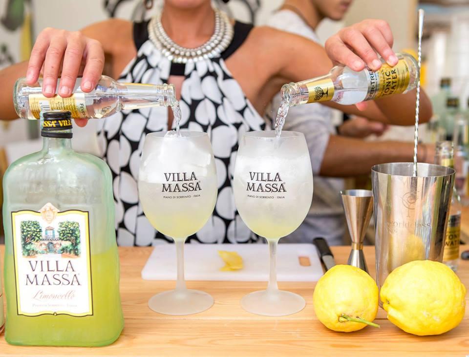 Villa Massa & Tonica, un cocktail versatile al basilico