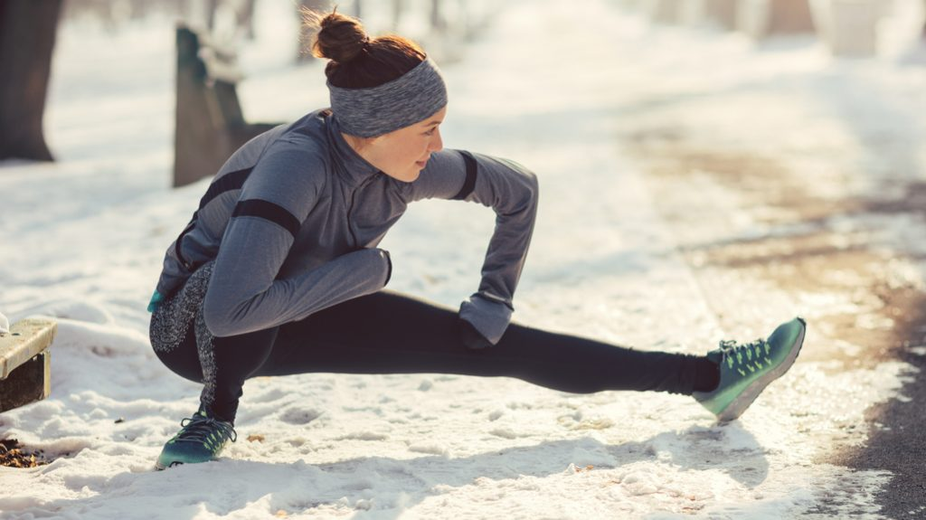 Correre durante l'inverno