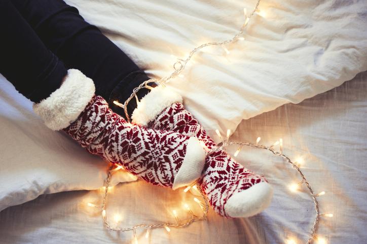 Calze di Natale, regalo perfetto per i ritardatari