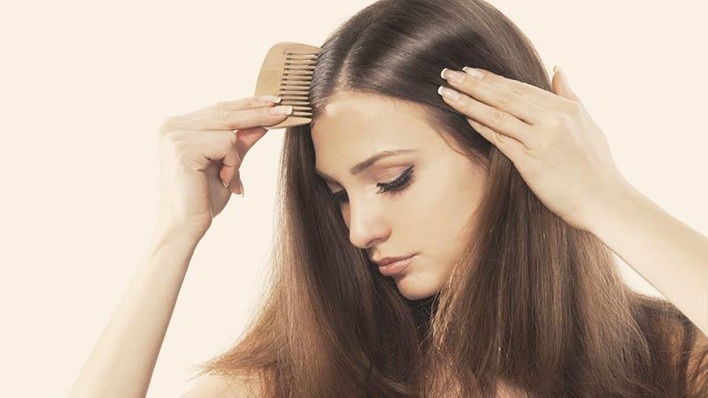 riga dei capelli