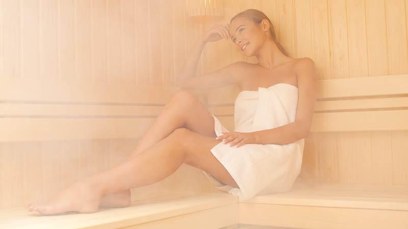 Fare la sauna regolarmente fa bene alla salute