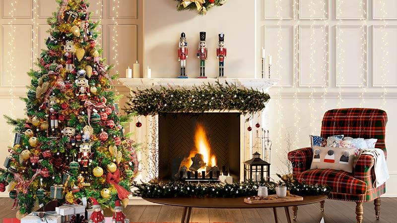arredo natalizio, stile Traditional