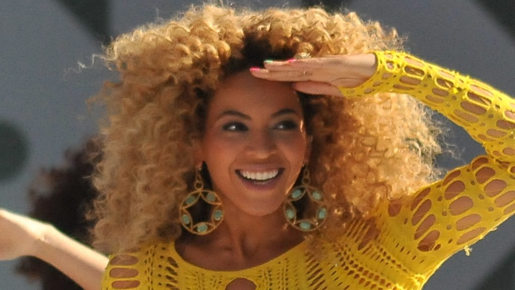 Star e attivismo, Beyonce sul palco