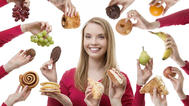 ossessione per il cibo