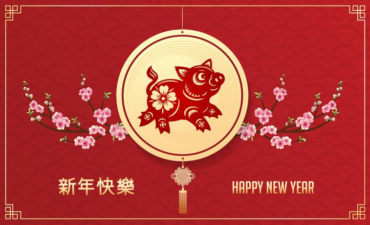 Capodanno cinese 2019, è l'Anno del Maiale