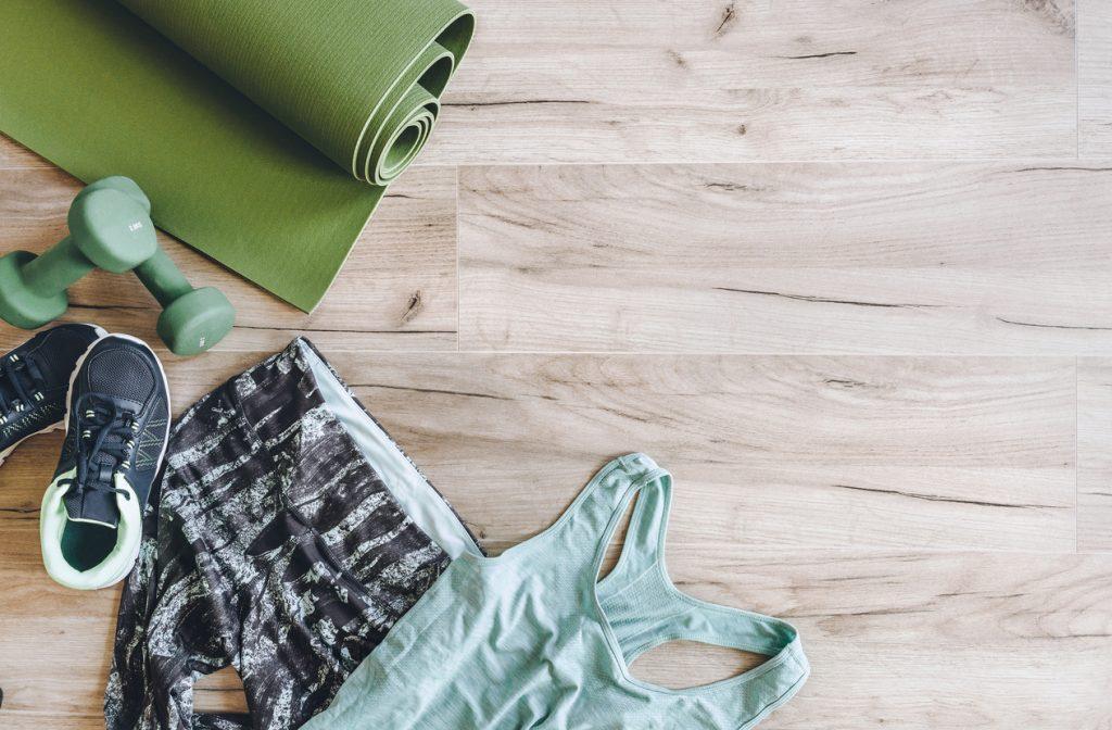 Come lavare i vestiti da palestra senza rovinarli
