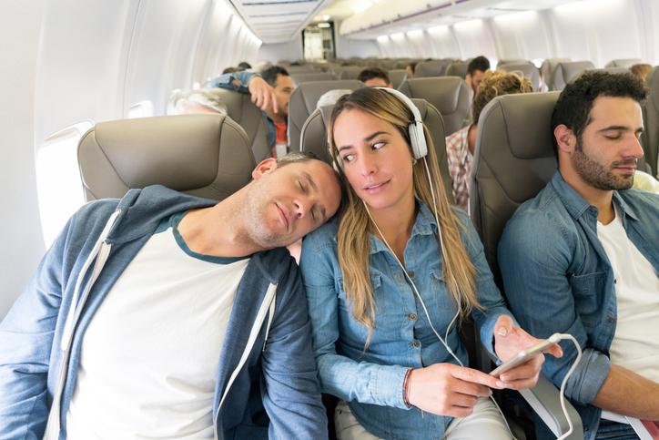 Comportamenti sbagliati in aereo