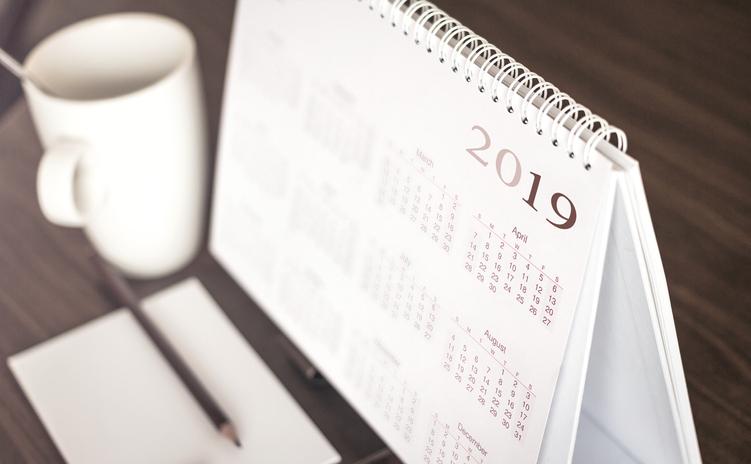 Calendario 2019, come pianificare al meglio le ferie
