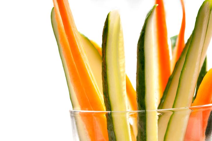 pinzimonio con verdure sottoaceto
