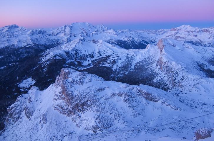 Dolomiti Superski panorama da Cortina