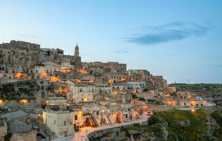 Matera rockstar italiana, Capitale europea della cultura