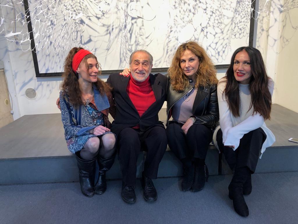 Da sx Pamela Ferri, Pino Ammendola, Roberta Cima, Susy Manzo