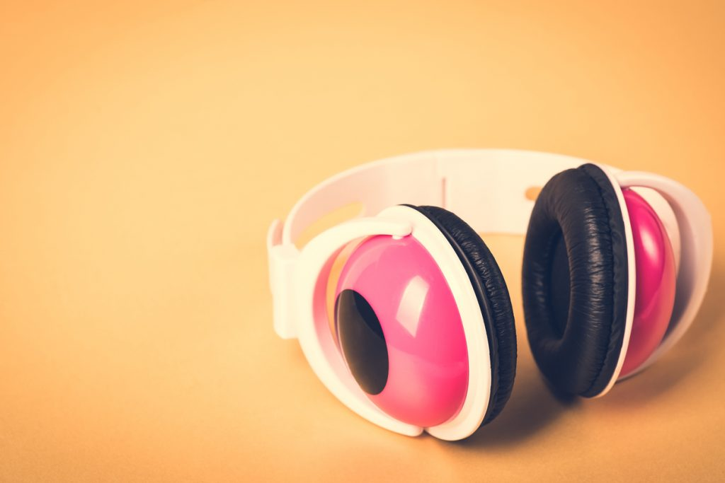 pulire le cuffie audio
