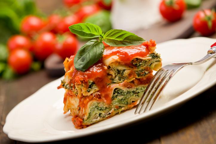 Lasagna con 'ricotta' vegan, una sorpresa di sapore