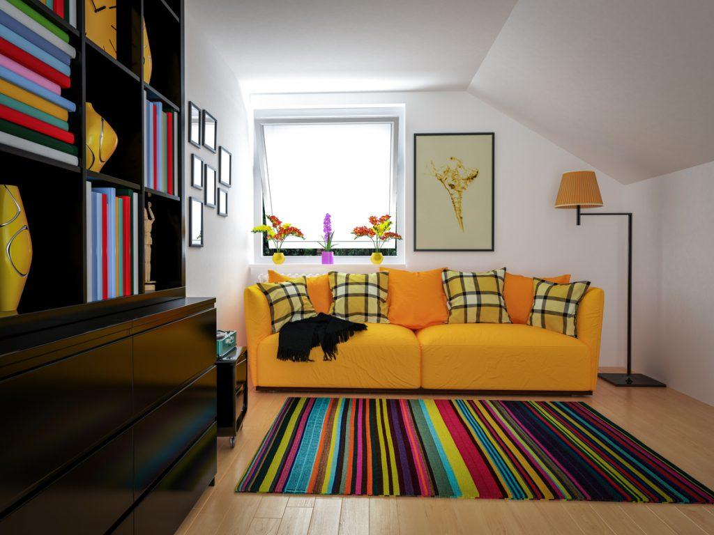 Il colore degli ambienti domestici degli italiani