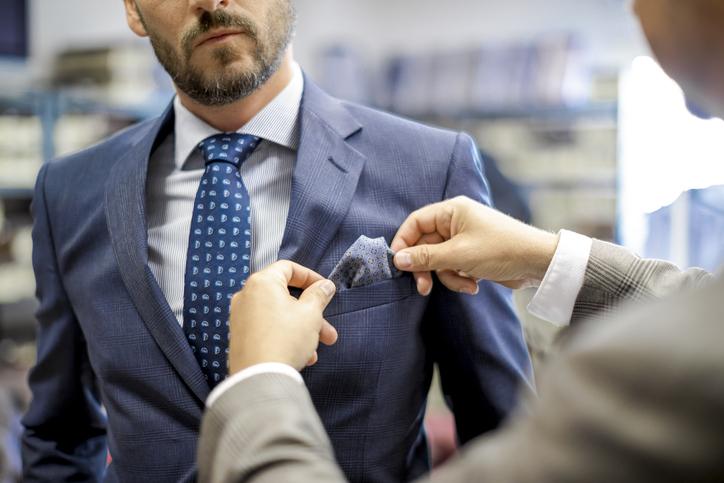 rivenditore di vendita 288f4 44a84 fazzoletto da taschino come si porta pochette giacca