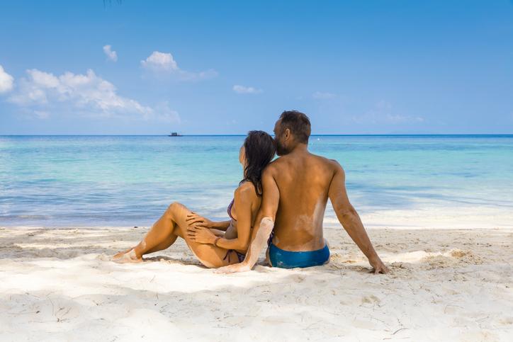 Viaggiatori sexy in vacanza