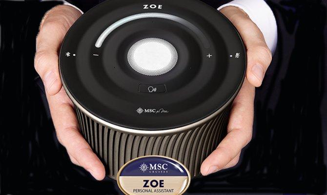 Zoe, la prima virtual assistant in nave