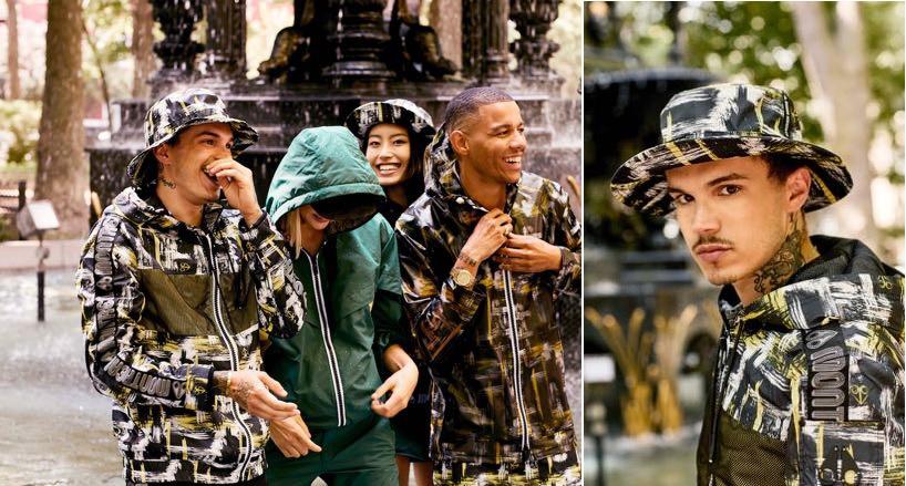 Camo jacket, lo stile urbano reinterpreta la mimetica