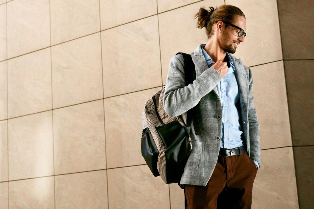 Backpack per lui, tra funzionalità e classe