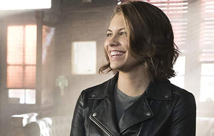 Lauren Cohan di The Walking Dead finalmente sorride!