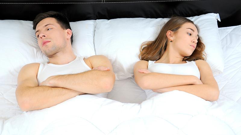 Intimità, cosa più infastidisce sotto le lenzuola