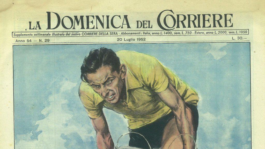 Boom italiano, pagina de La Domenica del Corriere
