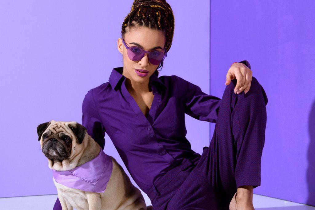 Purple eyewear, il colore magico incornicia lo sguardo