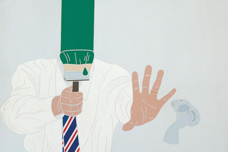 L'universo di Emilio Tadini in mostra a Milano
