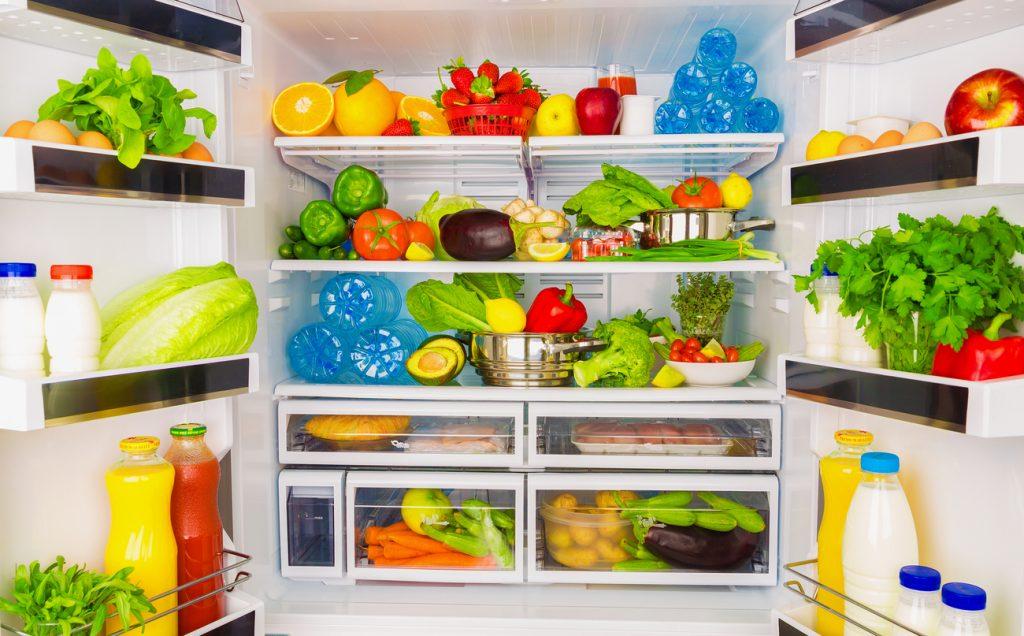 verdure in frigorifero