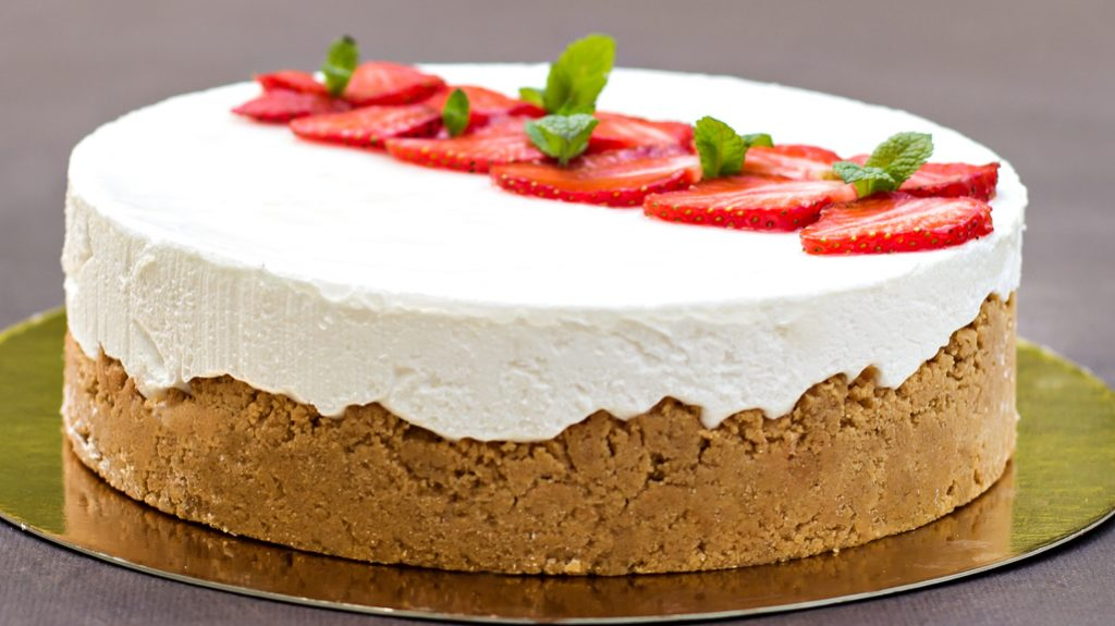 Scone cheesecake