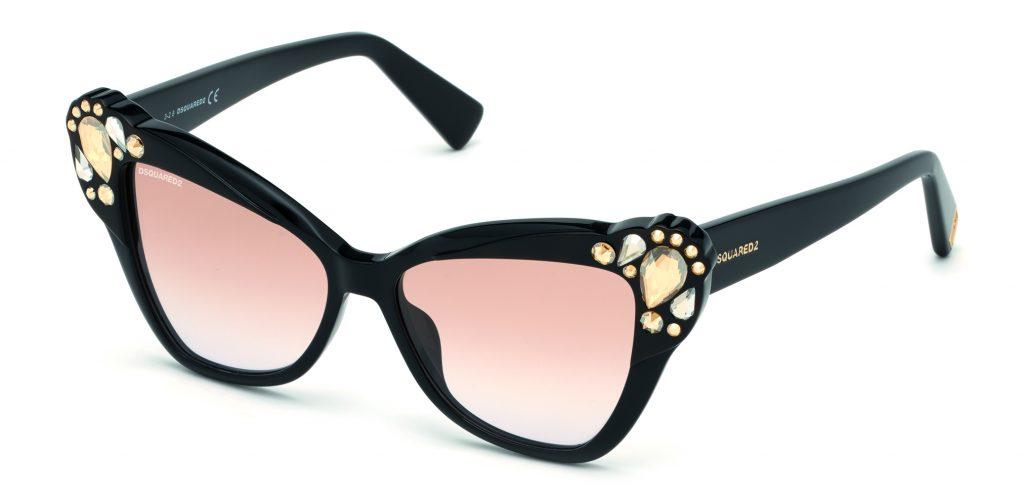 48d4c2ac7d Occhiali glitter e montature con dettagli luminosi per l'estate