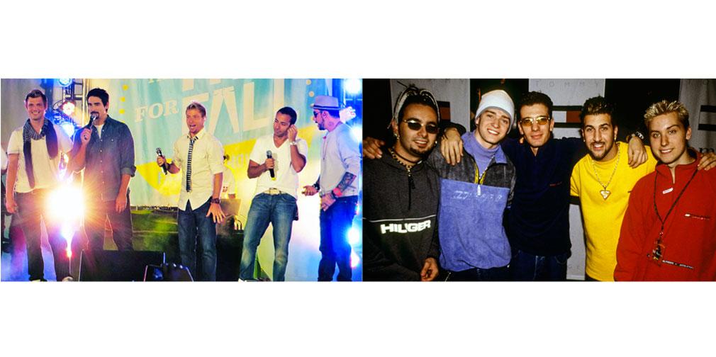 Backstreet Boys e 'N Sync