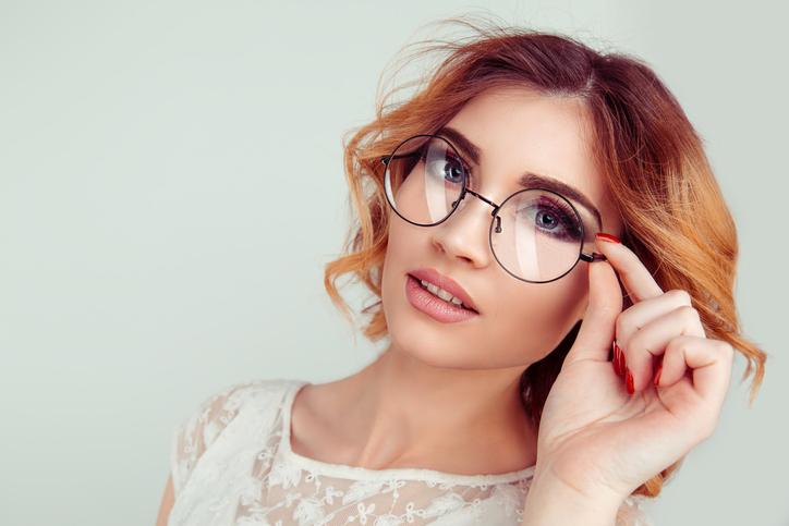 occhiali tondi