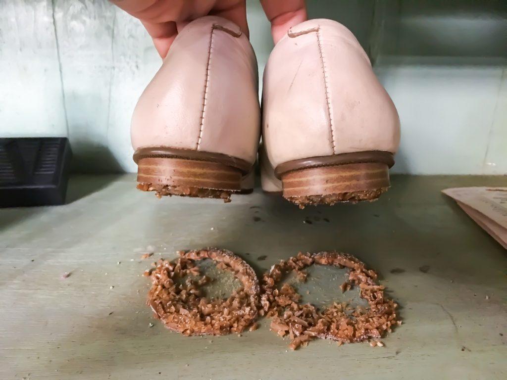 Come pulire le suole delle scarpe