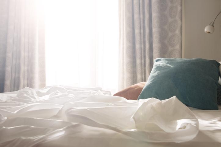 Una camera da letto fresca, anche d'estate