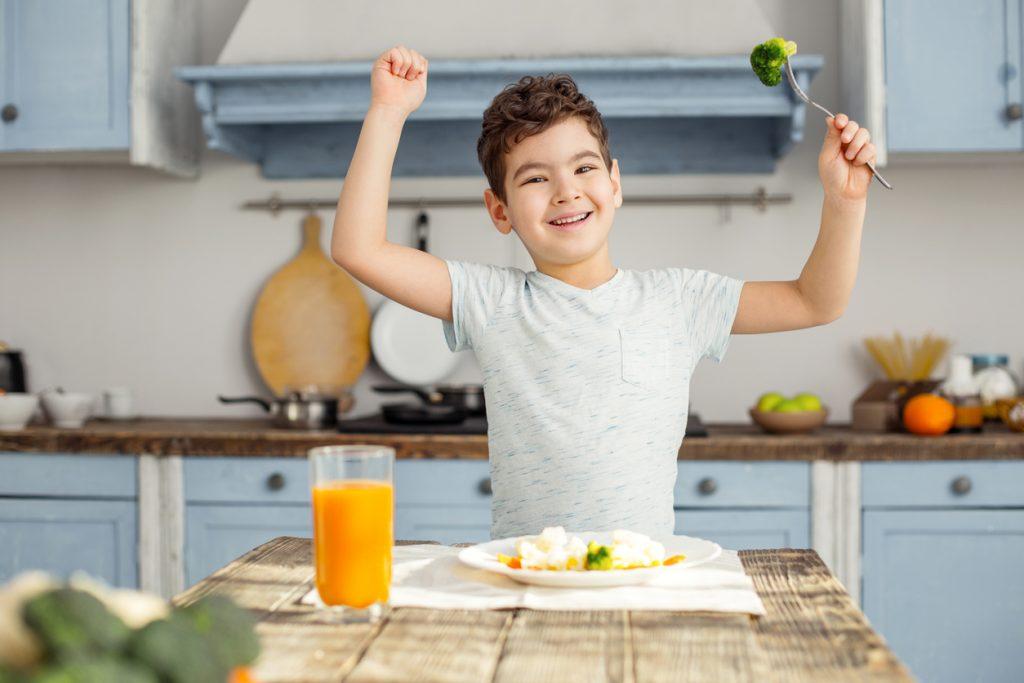 Far mangiare i bambini con le parole giuste