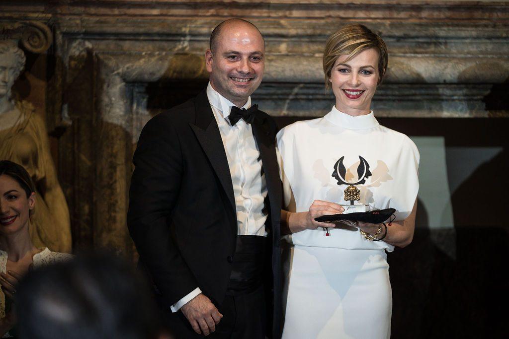Gino Tozzi e Violante Placido per il Premio Margutta