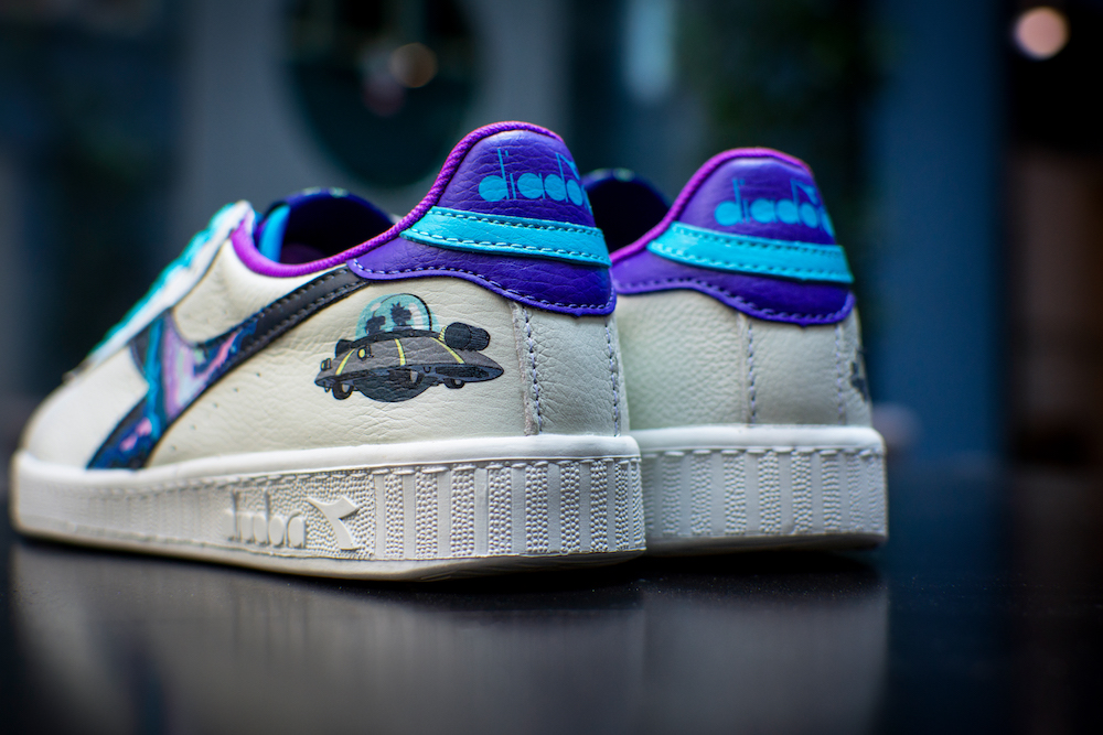 Rick & Morty Diadora Game L Low