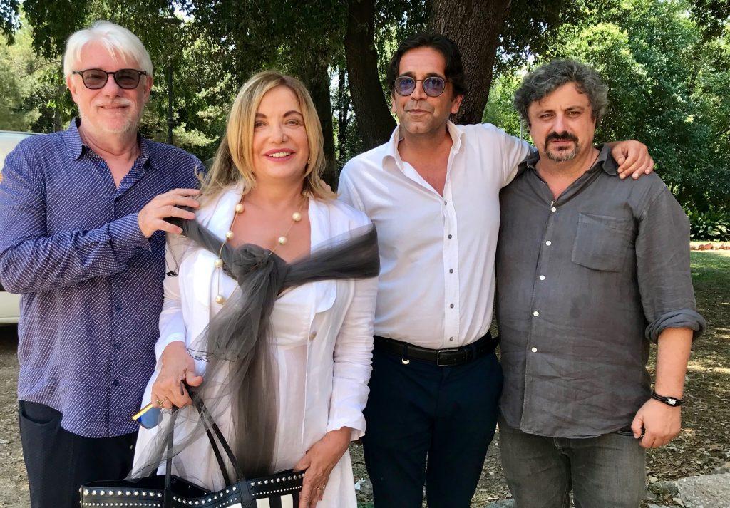 Ricky Tognazzi, Simona Izzo, Kristian Franzini e Fabrizio Conti