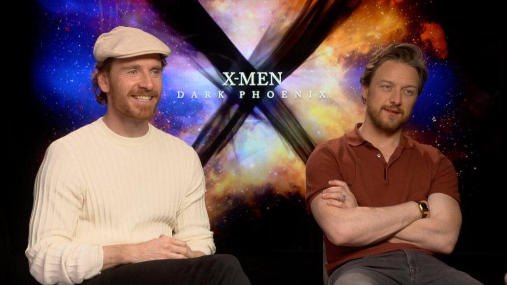 X-Men, Fassbender e McAvoy presentano Dark Phoenix