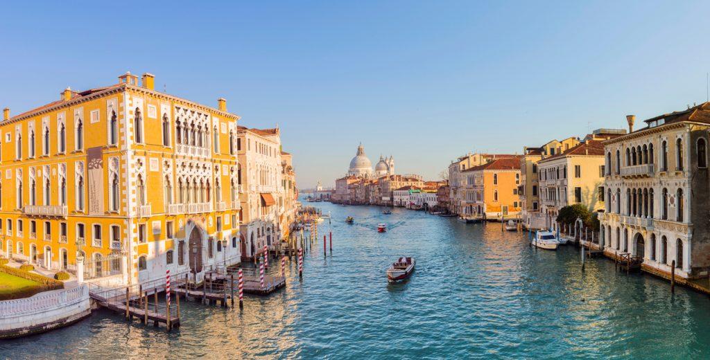 Panorama di Venezia dal Canal Grande
