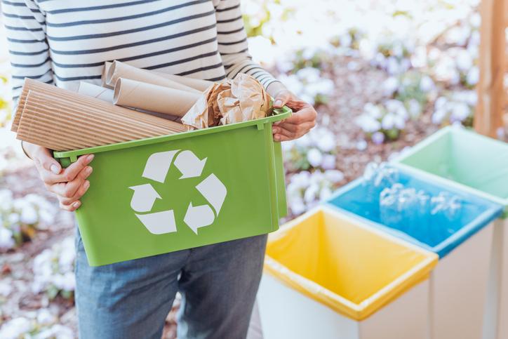 rispetto dell'ambiente, raccolta differenziata