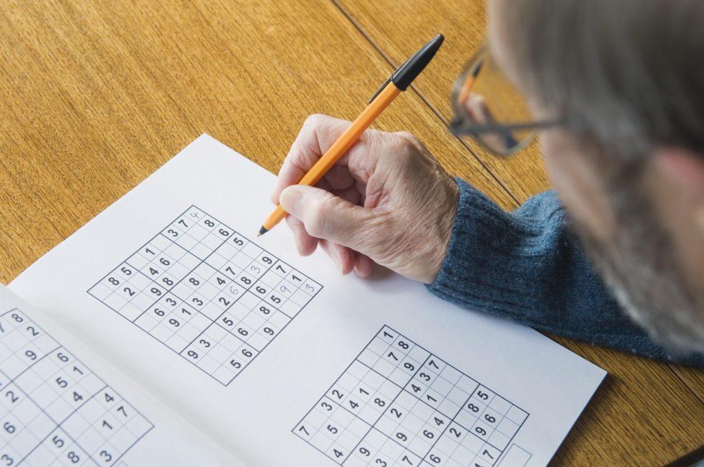 Sudoku e parole crociate per un cervello in forma
