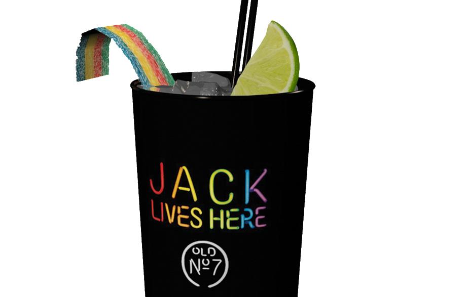 Jack Rainbow, un brindisi all'amore in tutte le sue forme