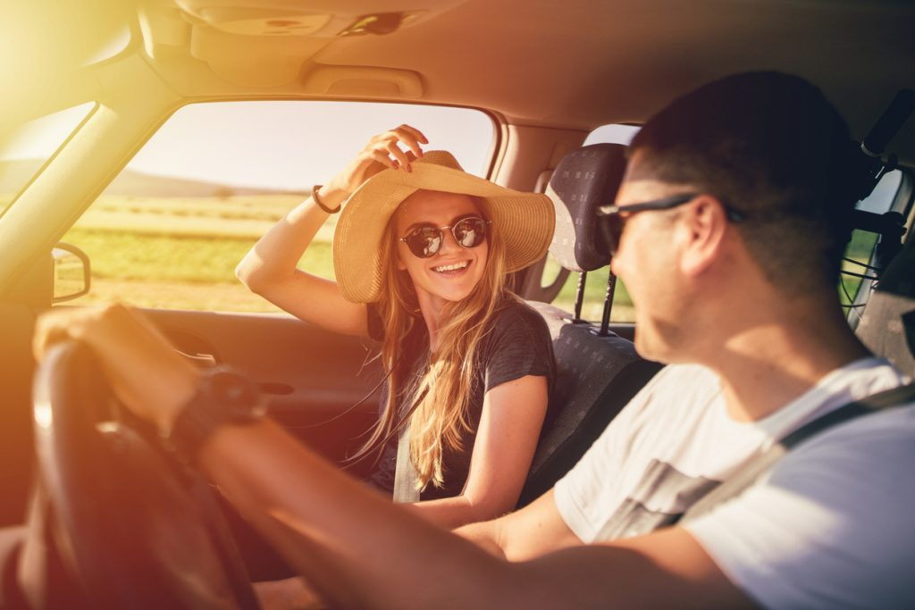 guidare in estate