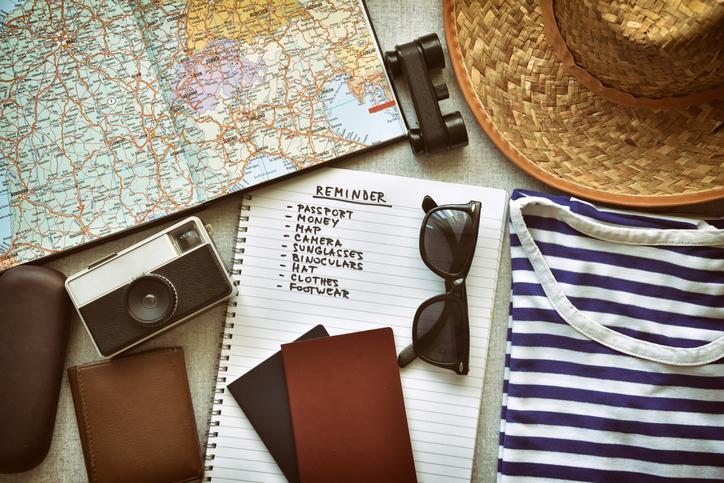 Lista per viaggiare sicuri