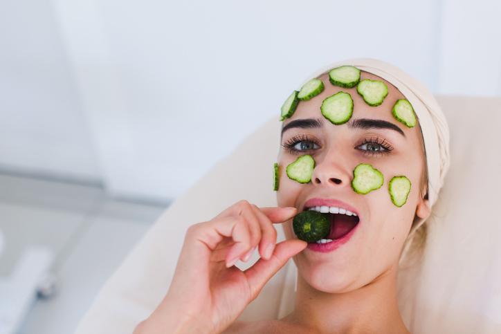 Cetriolo, fresco alleato della pelle