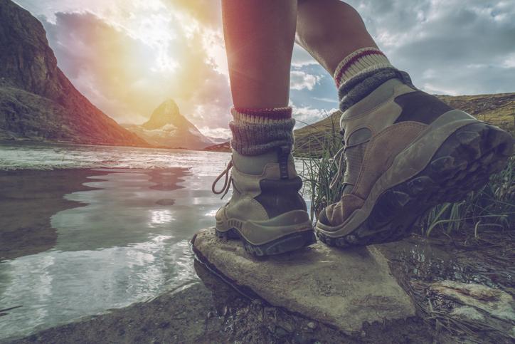 Escursionismo, le scarpe che fanno la differenza
